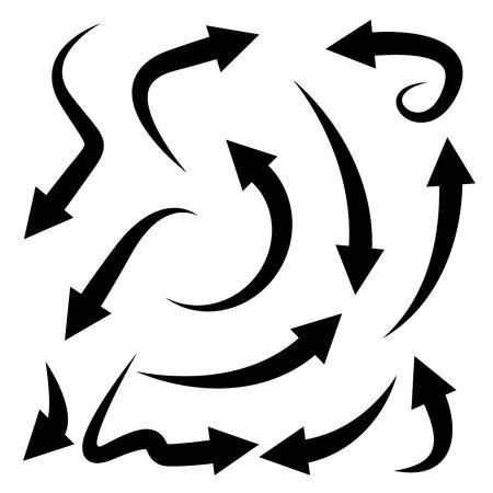 arrow icons Illustration