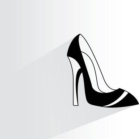 tacones: zapato de tacón Vectores