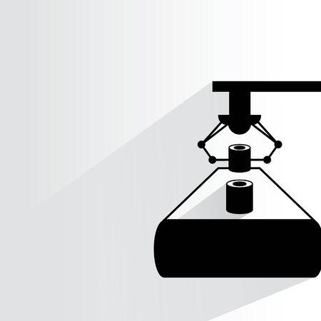 operating: manufacturing process, robotic arm