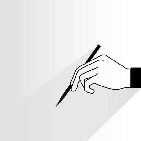 literate: hand writing