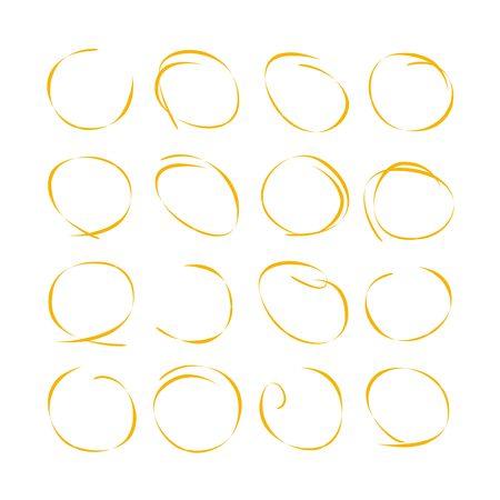emphasis: marker circles