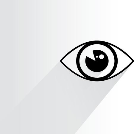 eye, iris scan Illustration