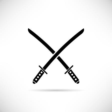 scimitar: swords Illustration