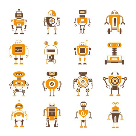 space robot: robot icons