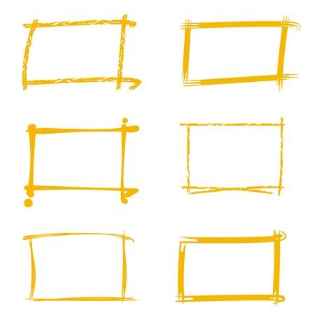 cornici, bordi marcatori