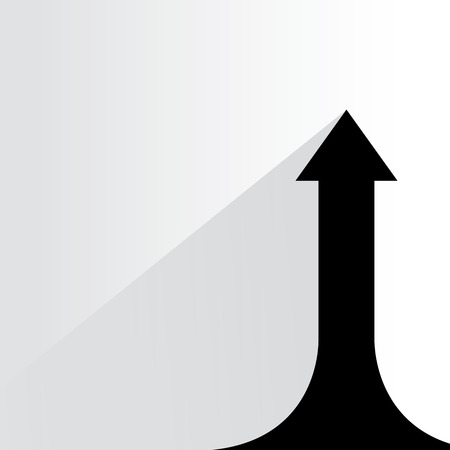 directive: up arrow, upward movement of arrow chart