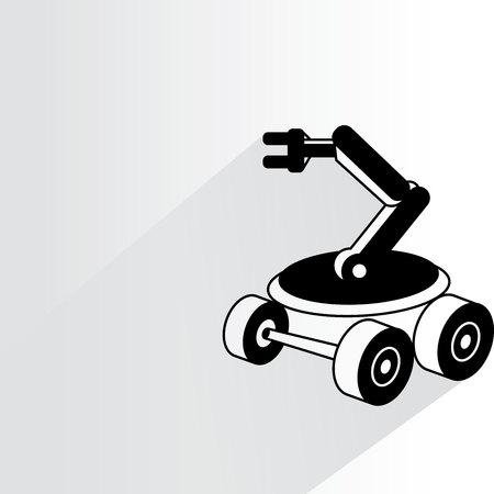 rescue: rescue robot Illustration