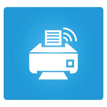 internet buttons: printer