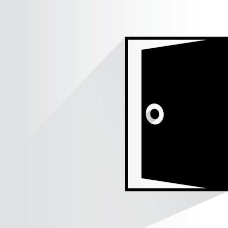 door, exit Çizim