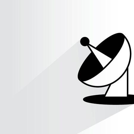 telecommunications technology: radar dish
