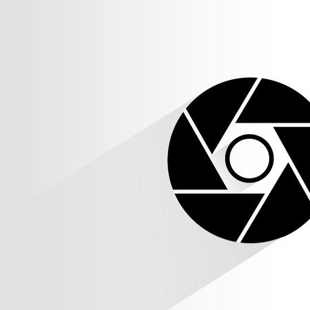 camera symbol: camera lens symbol