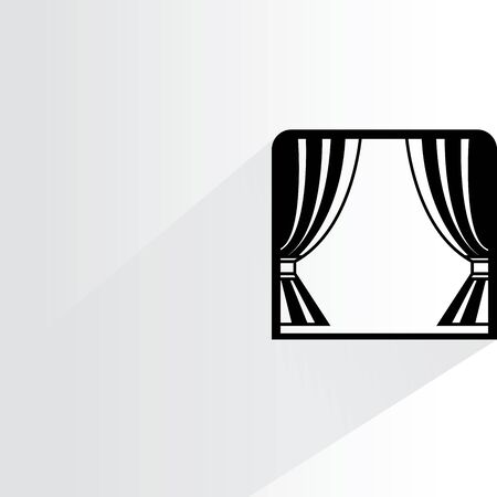 luxury homes: window Illustration