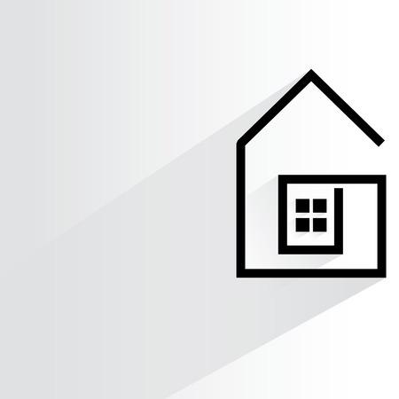 site backgrounds: house illustration
