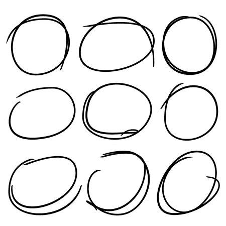 highlight: circle set, highlight markers