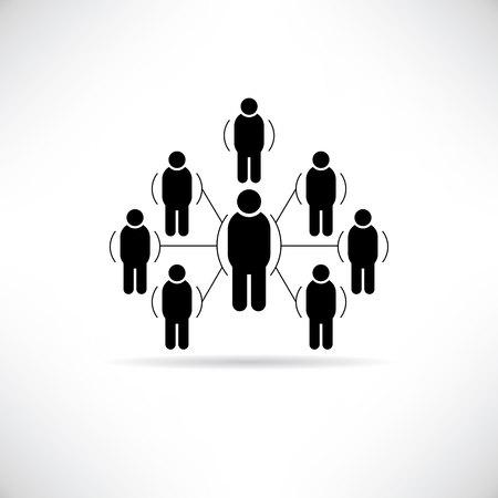 social gathering: social network