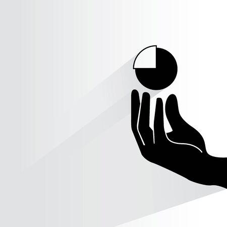 incorporation: marketing share illustration Illustration