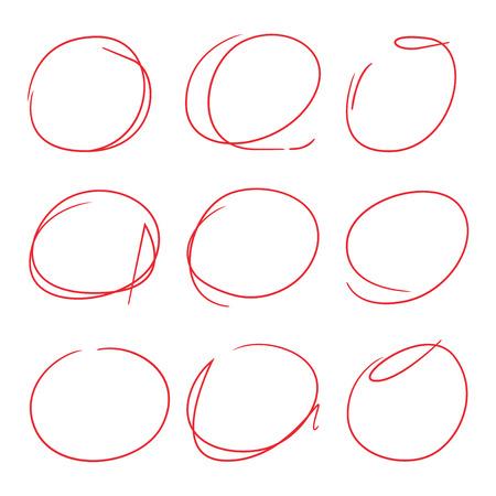 describe: highlight circle set