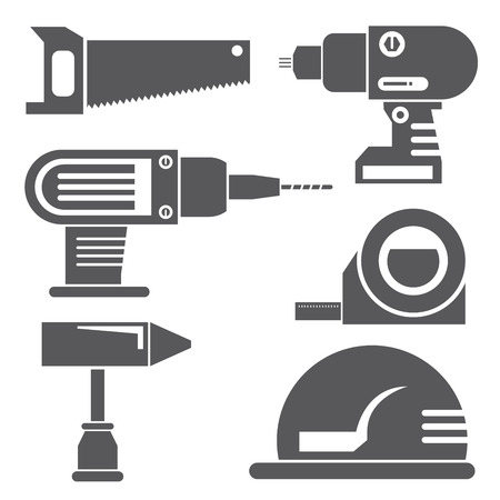 small group of objects: tools icon