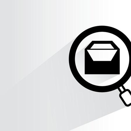 search box: search box Illustration
