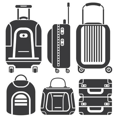 valigia: Icone bag, borse da viaggio