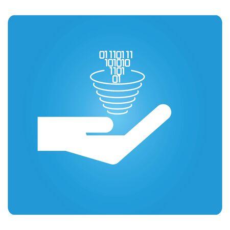 funnel: data funnel icon