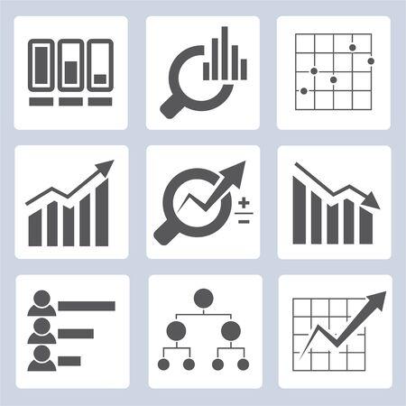 compute: data graph icons