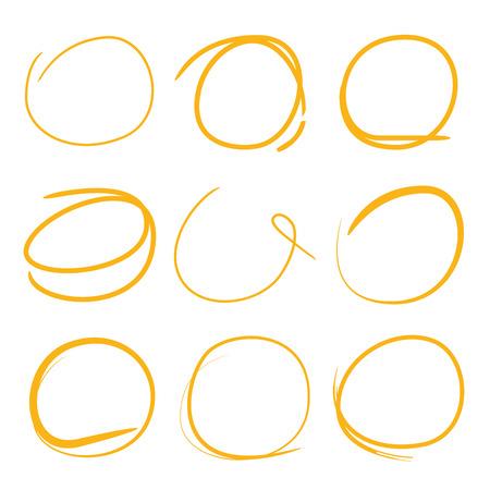 highlighter: circle highlighter set