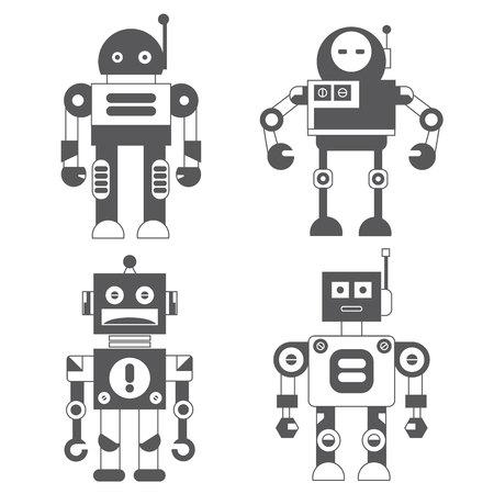 AI: robot icons