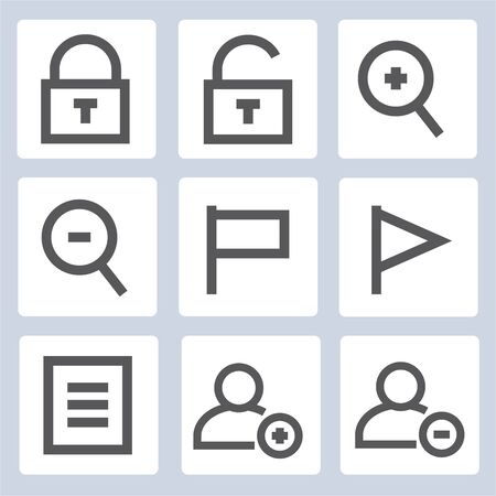 web icons: web icons, outline icons