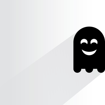 jinn: cute ghost Illustration