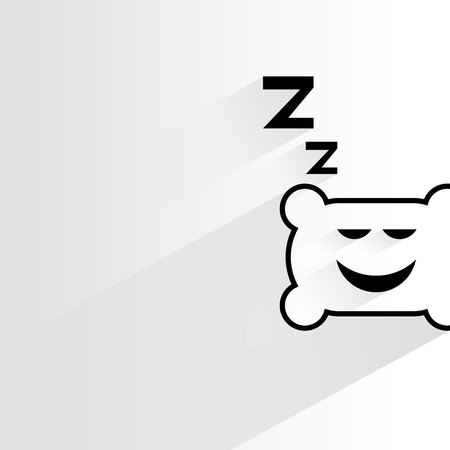 sleep well: pillow