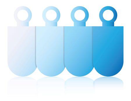 process diagram: blue process diagram