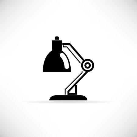 Lámpara de mesa  Foto de archivo - 53360522