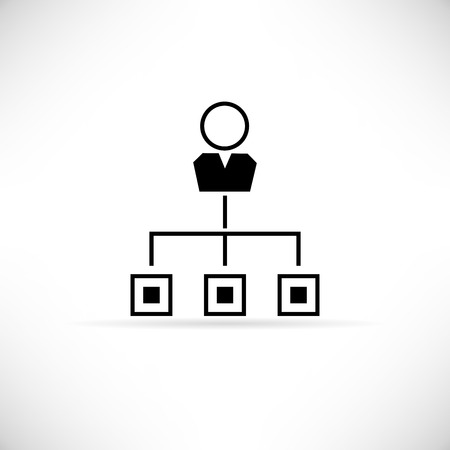 hierarchy: business hierarchy, organization chart