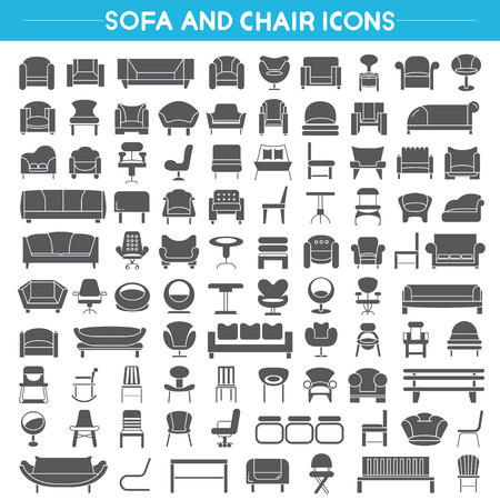 a chair: sofa icons, chair icons, furniture icons