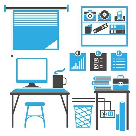 office furniture: office interior furniture
