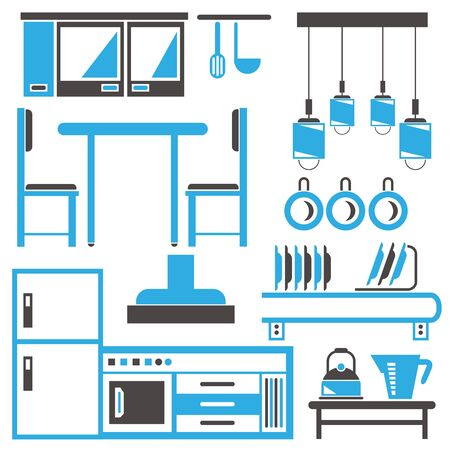breakfast room: kitchen, household appliance icons