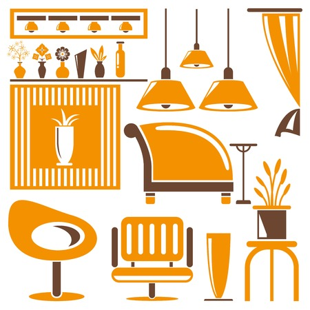 homely: home furniture icons