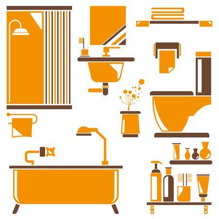 wc: Toilette, WC Illustration