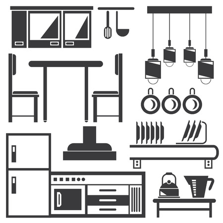 appliance: kitchen, household appliance icons