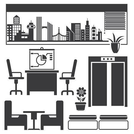 office furniture: office, furniture decoration