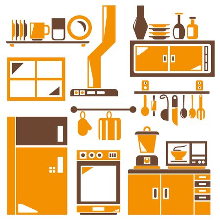 appliance: kitchen household appliance icons