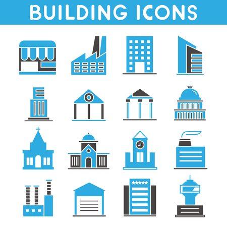 contours: building icons