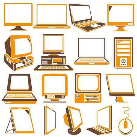 ordinateur icônes