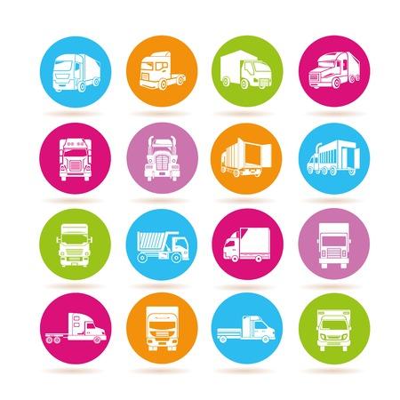 hauler: truck icons