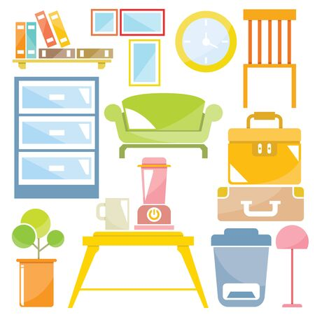 decor: home decor Illustration