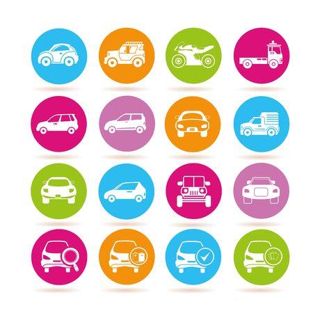transportation icons: transportation icons, vehicle icons