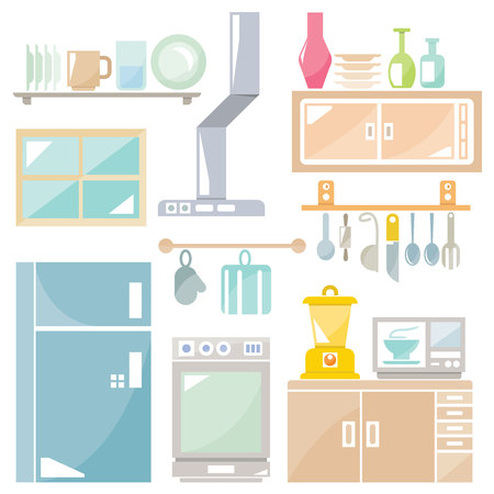 appliance: kitchen, household appliance Illustration