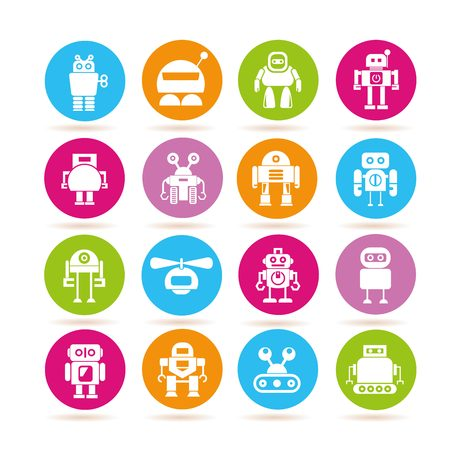 icons: robot icons