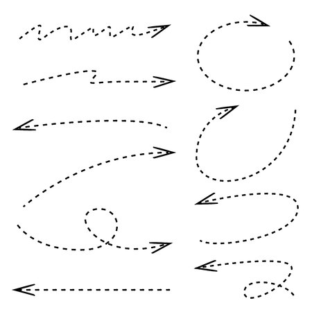 dashed: dashed arrows